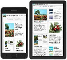 An den Küsten des Lichts auf Smartphone und Tablet
